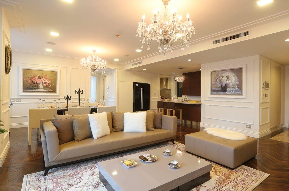 Hệ thống tiện ích lý tưởng của Cho thuê căn hộ Hoàng Thành Tower