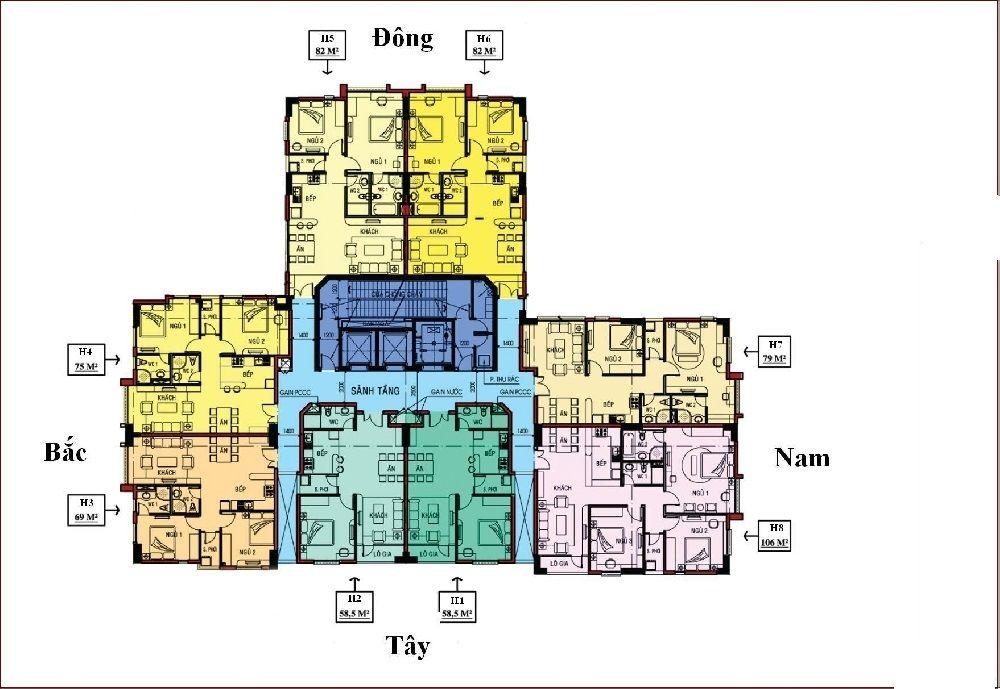 Chung cư cao cấp cho thuê Phú Đạt phong cách sáng tạo giá hợp lý