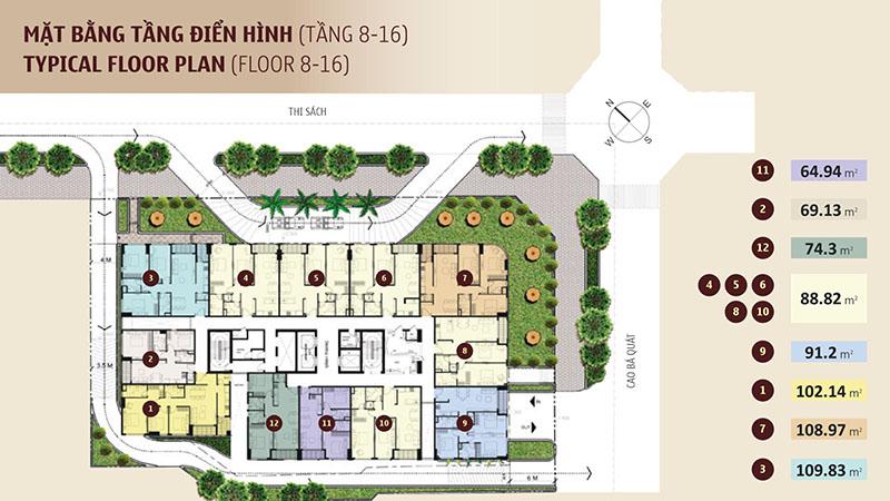 Madison chung cư cao cấp không gian xanh lớn nhiều ưu đãi